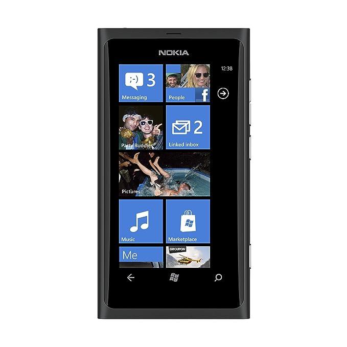 NOKIA LUMIA 800 BLACK 16GB UNLOCKED GSM (3G HSDPA 900/1900/2100) NEW