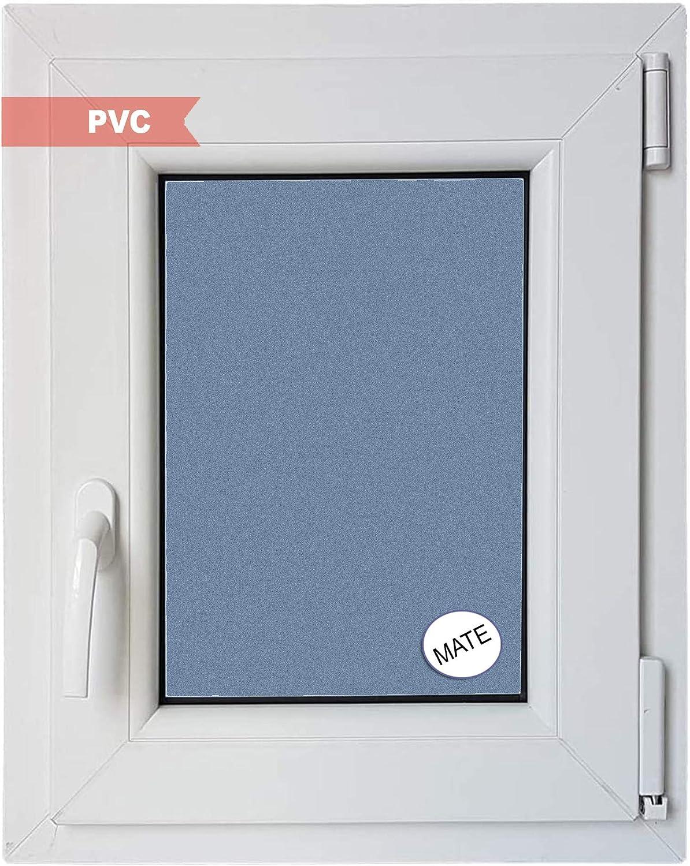 Ventanastock Ventana PVC Practicable Oscilobatiente Derecha 500 ancho x 700 alto 1 hoja con vidrio Carglass (Climalit Mate)