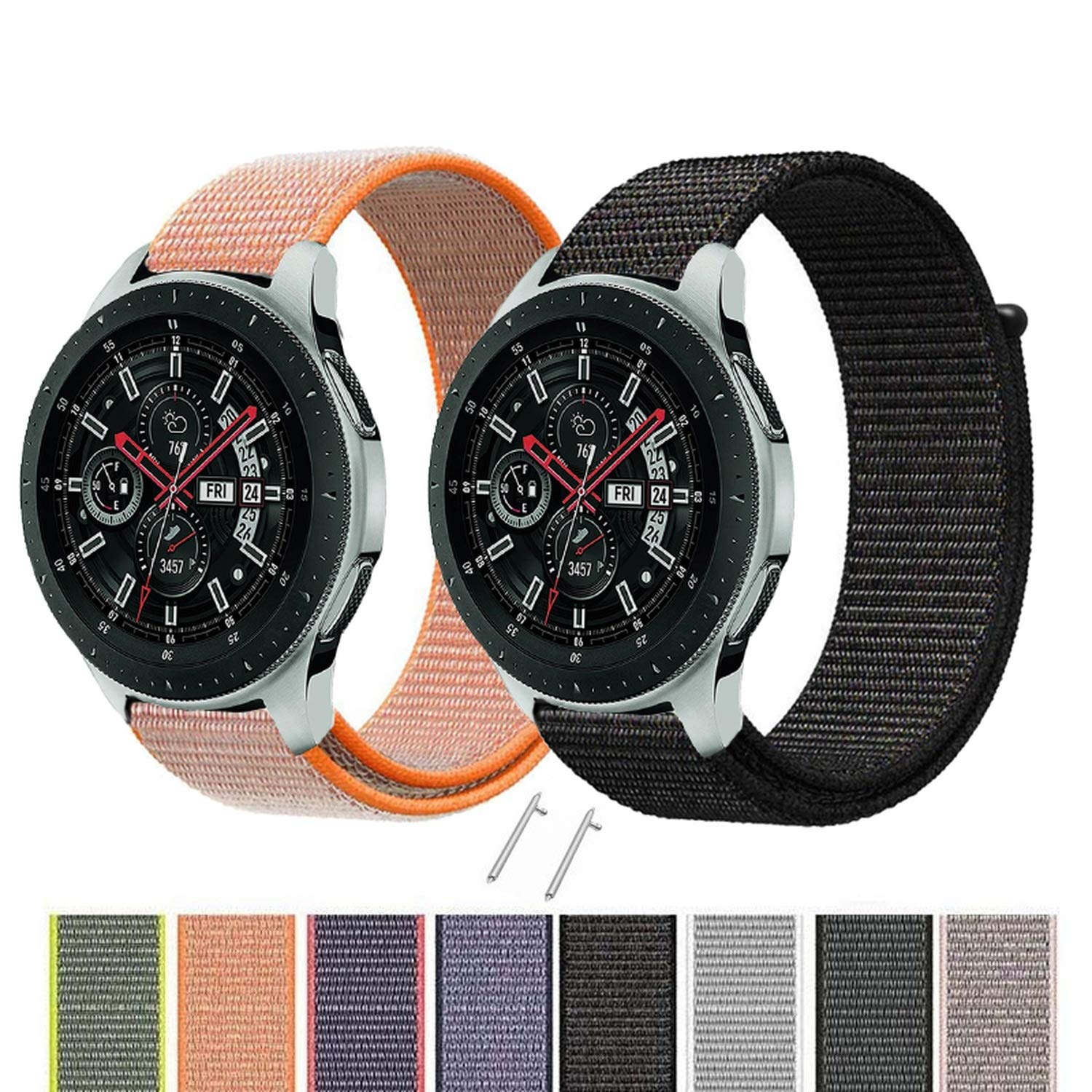 Amazon.com: Nylon Loop Band for Samsung Galaxy Watch Strap ...