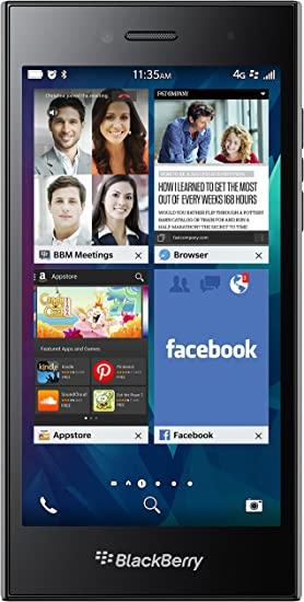 BlackBerry Leap 16GB 4G Gris - Smartphone (SIM única, BlackBerry ...