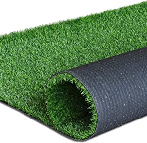 "Artificial Grass Turf Lawn-7 x 80 Feet, 0.7"" Indoor Outdoor Garden Lawn Landscape Synthetic Grass Mat Fake Grass Rug"