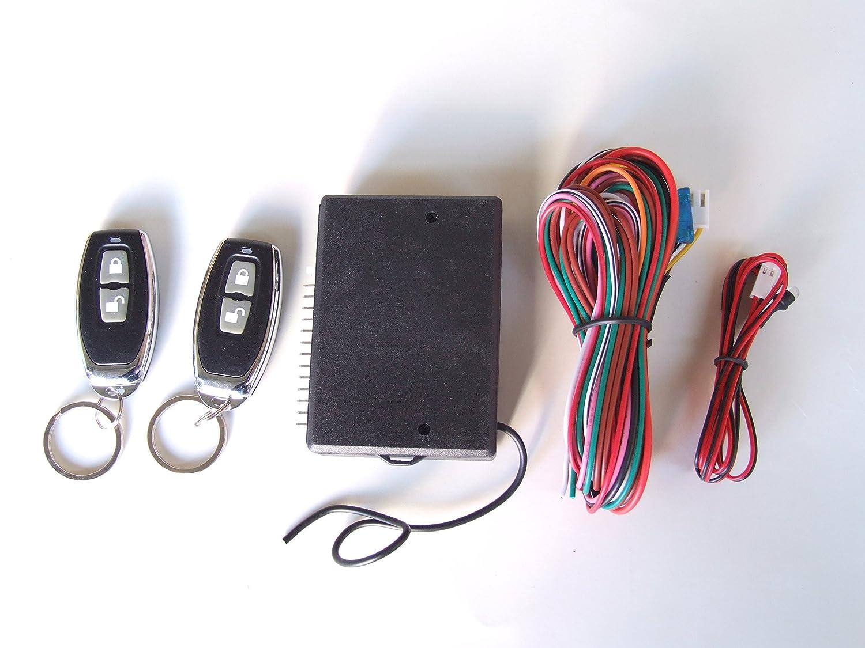 Universal Remote Central Locking Upgrade Kit Keyless Entry +2 Remotes Fobs