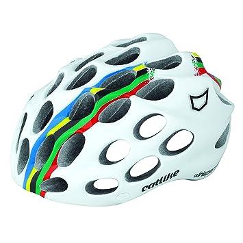 Catlike Whisper - Casco de ciclismo, color campeón del mundo, talla LG (58