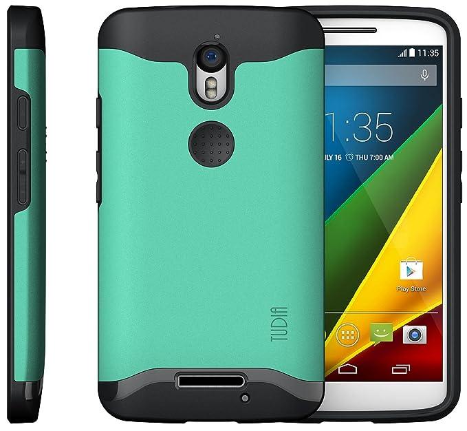 Motorola Droid Turbo 2 (Verizon) / Moto X Force Funda, Caja protectora TUDIA Slim-Fit MERGE de doble capa para Motorola Droid Turbo 2 (Verizon) / Moto X ...
