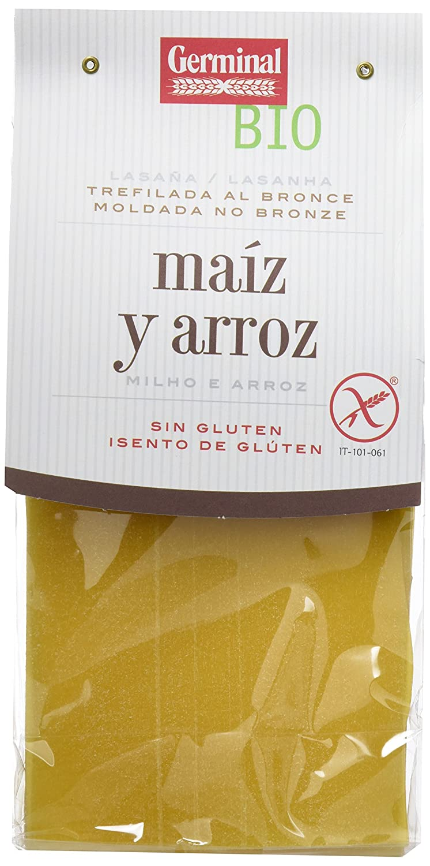 Germinal Lasaña de Maíz Sin Gluten - Paquete de 6 x 250 gr ...