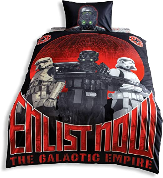 Original Juego de Funda de Edredón, diseño de Star Wars, Para Cama ...