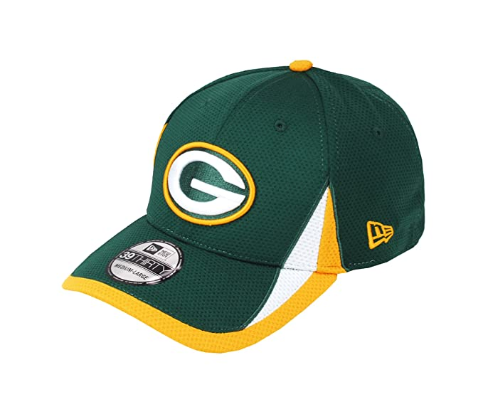 Medium Brand New Green Bay Packers New Era NFL 2018 Stretch Fit Cap Size Small