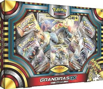 PoKéMoN Juego de Cartas Grandiras-GX 25962: Amazon.es: Juguetes y juegos