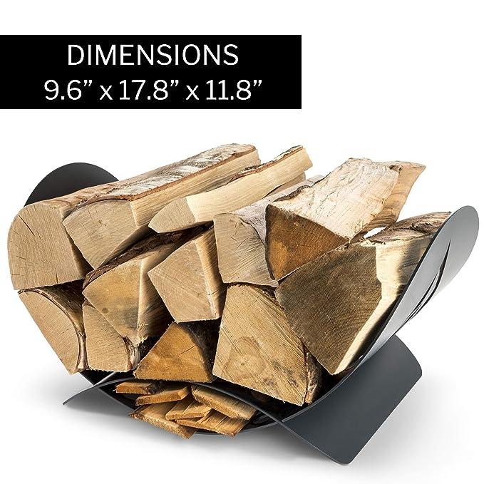 Amazon.com: Nest & Nook – Soporte para chimenea de madera ...