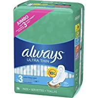 Deals on 72-Count ALWAYS Ultra Thin Size 3 Extra Long Super Pads