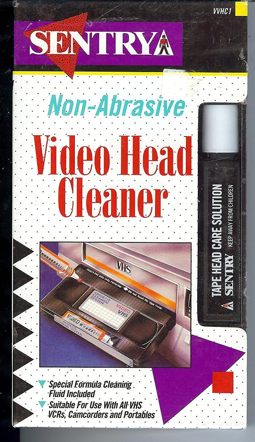 Sentry Non-Abrasive Video Head Cleaner FH 4KT1010010