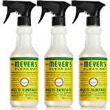 Mrs. Meyer's Clean Day Multi-Surface Cleaner Spray, Everyday Cleaning Solution for Countertops, Floors, Walls and More, Honey