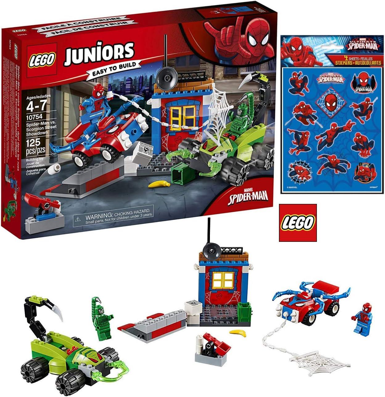 LEGO 10754 Juniors - Juego de construcción de Spider-Man y ...