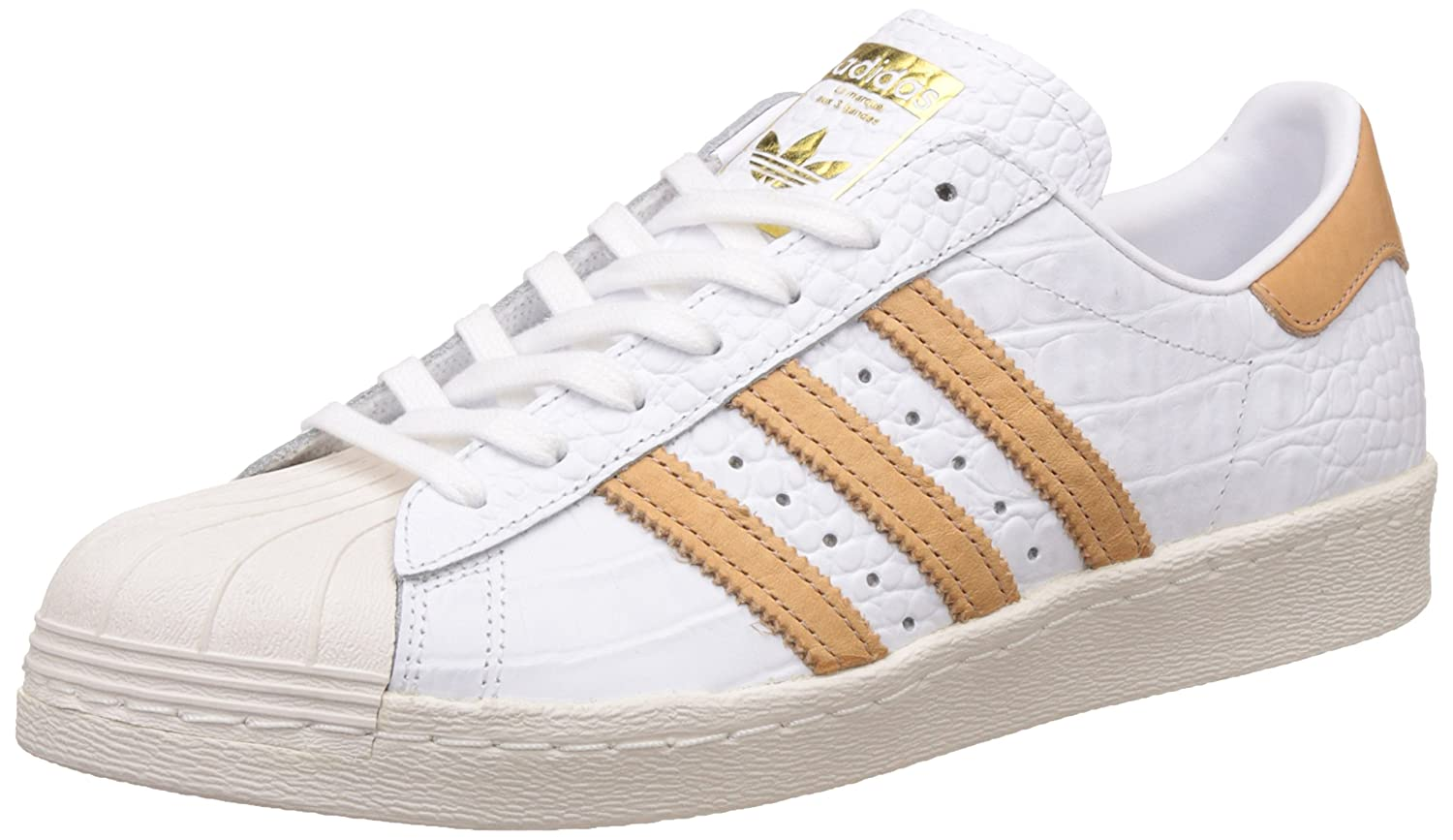 a04ab10302 adidas Women's Superstar 80S Metallic Pack Low-Top Sneakers: Amazon ...