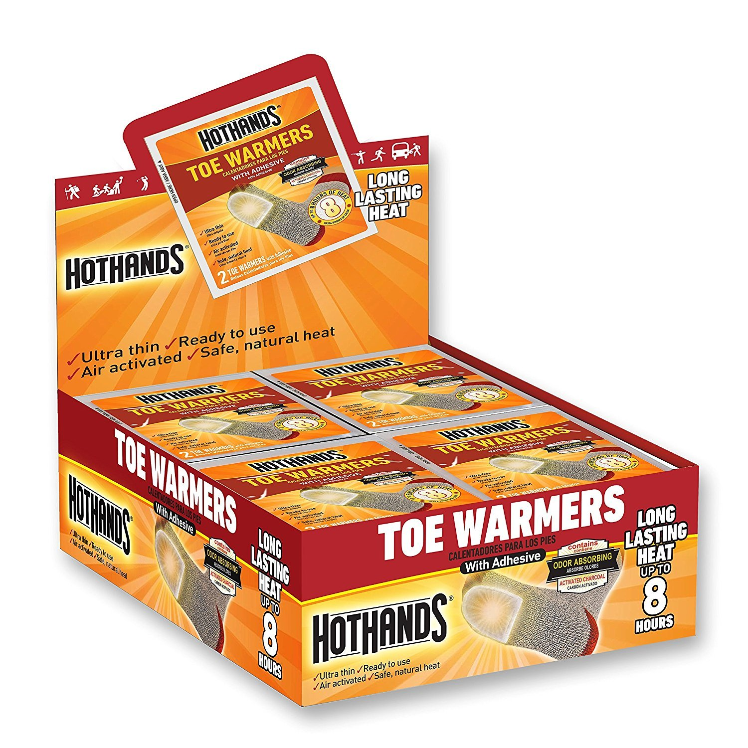 HotHands Toe Warmers Full Pallet (8640 Pairs)