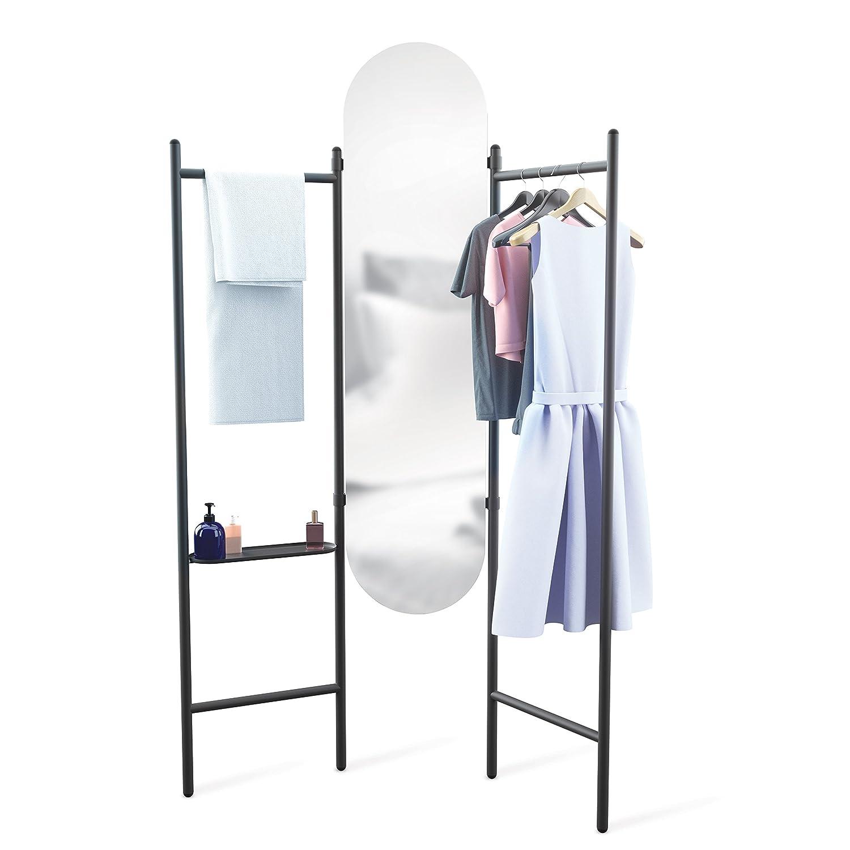 Black Umbra 1009611-040 Vala Floor Mirror Mirrors Home & Kitchen ...