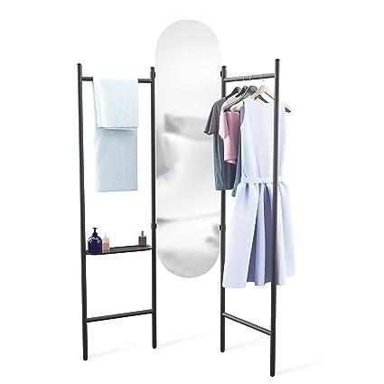 Amazon.com: Umbra 1009611-040 Vala Floor Mirror, Black: Kitchen & Dining