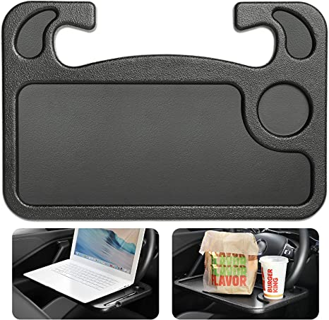Eating or Laptop Steering Wheel Desk Black Gift