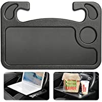 Cutequeen Black car Laptop/Eating Wheel Desk (pack of 1)
