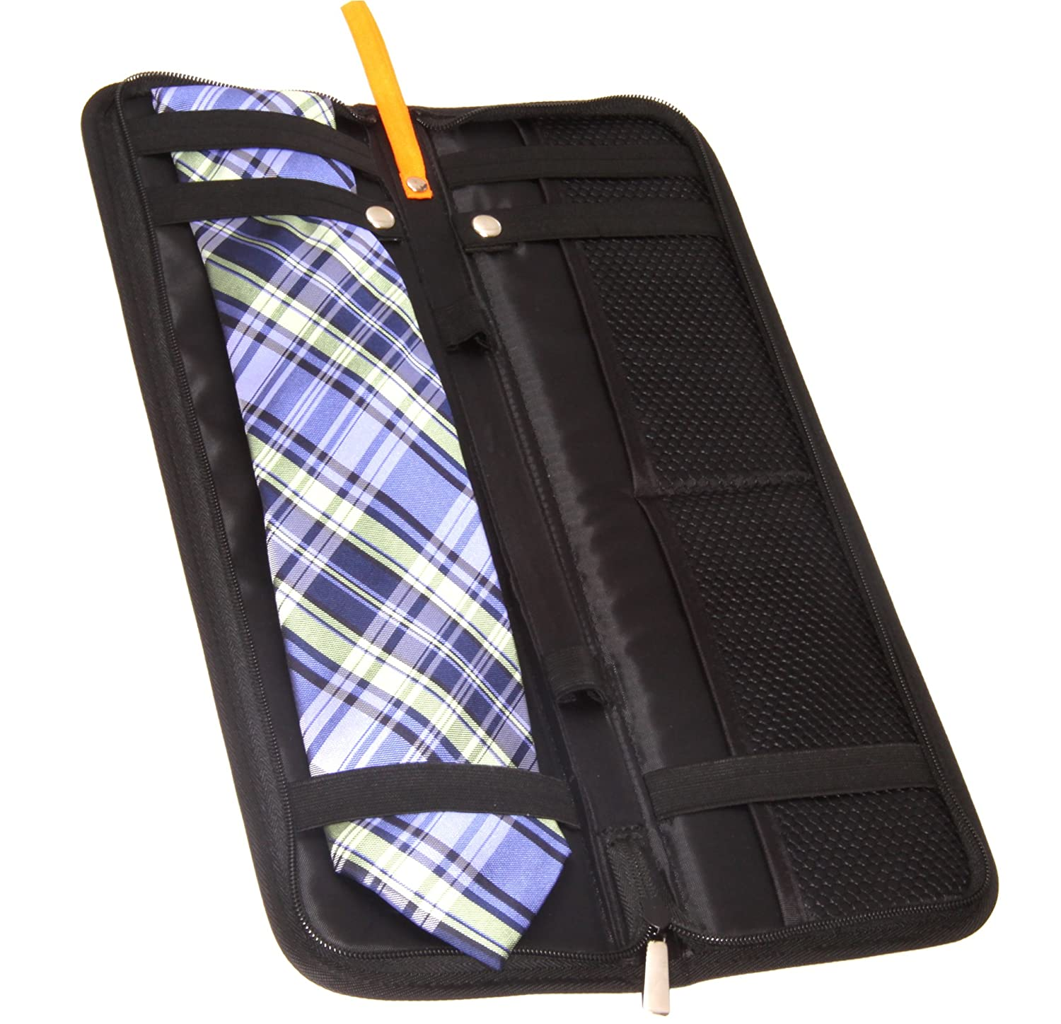 Living Health Products TIE-CASE-001 Tie Case For Travel - Leather Travel Tie Case   B005AWVVQU