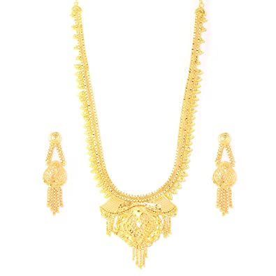 plated jewellery loading cz itm necklace s heavy gold bollywood is pendant bridal set image indian