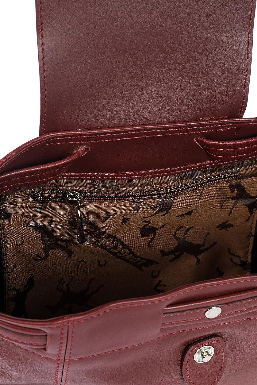 Longchamp mochila bolso de mujer en piel nuevo bordeaux: Amazon.es: Zapatos y complementos