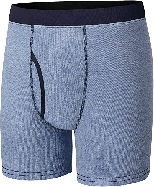 Hanes Dyed Boxer Brief ComfortSoft Waistb/& Assorted Blk /& Grey 4-Pack/_Assorted/_M