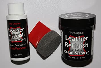 Amazon.com: Leather Repair Kit / Leather Color Kit / Cleaner ...