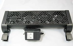 AQUATEK ChillMaster Aquarium Cooling Fan 4 Fan Model (AQT-F04)