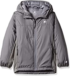 Starter Boys' Insulated Breathable Jacket, Amazon Exclusive