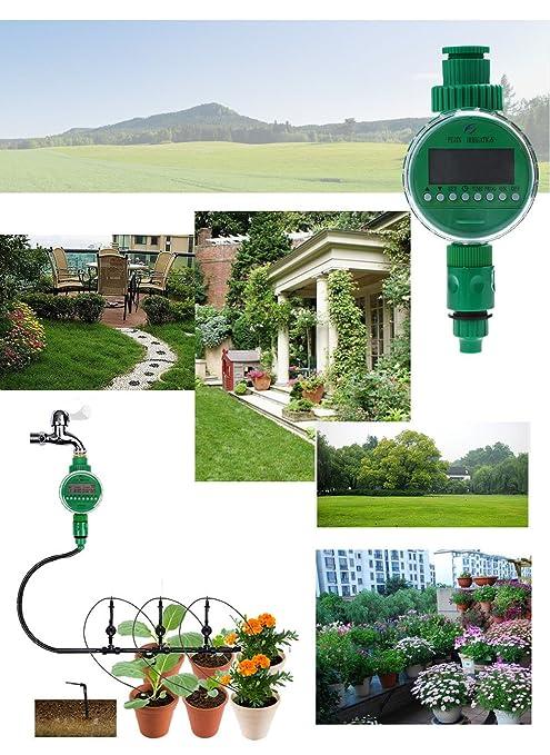 Bewässerungssystem automatische Rasensprenger Pflanz Urlaubs-Bewässerungsanlage