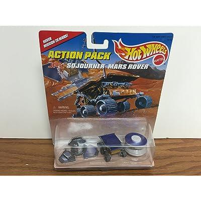 Hot Wheels JPL Sojourner Mars Rover Action Pack: Toys & Games