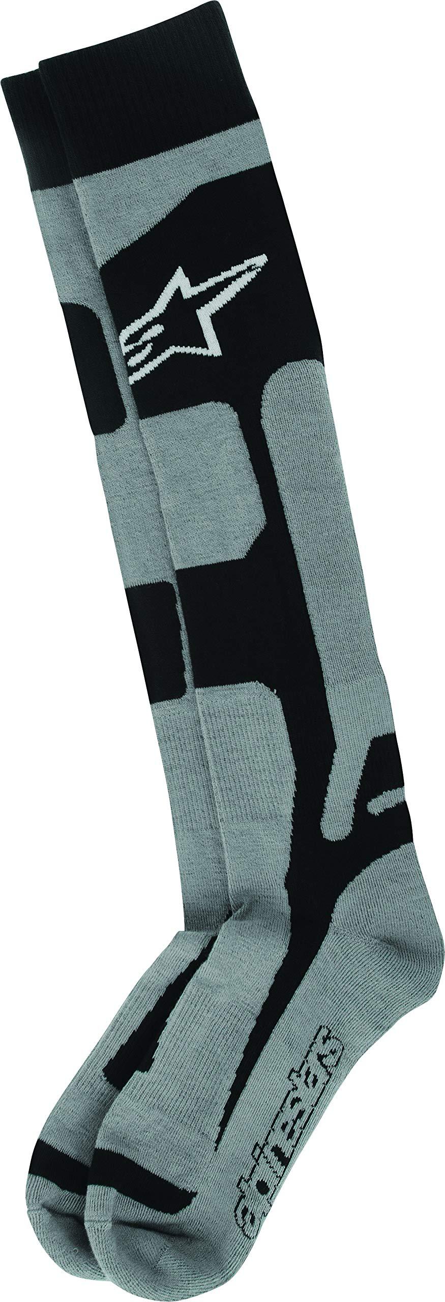 Alpinestars Men's 4702114-107-SM Sock (Coolmax) (Black, Small/Medium) by Alpinestars