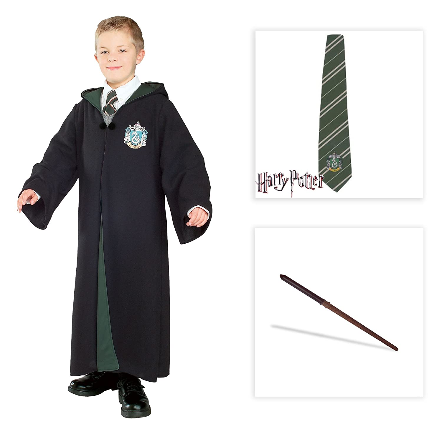 LICENSED HARRY POTTER SLYTHERIN MALFOY CHILD BOOK WEEK COSTUME TOP