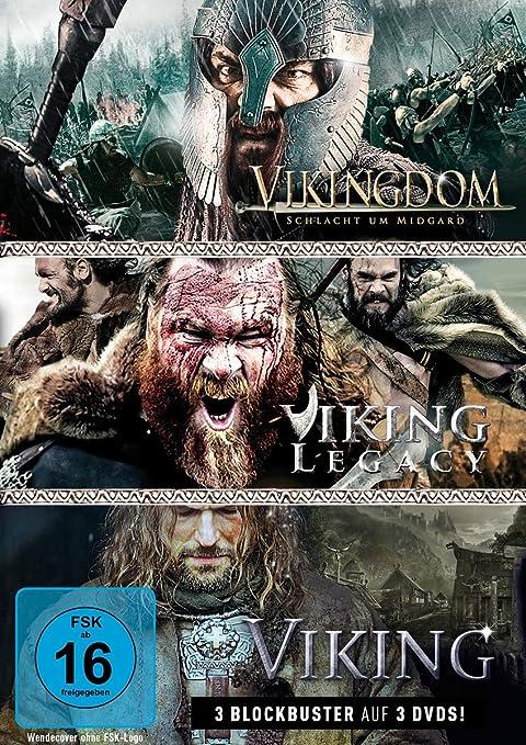 Vikingdom / Viking Legacy / Viking [Alemania] [DVD]: Amazon.es: Stevens, Conan, Fairbrass, Craig, Purcell, Dominic, Moss, Jesse, Foo, Jon, Malthe, Natassia, Moss, Tegan, Halim, Yusry Abd, Stevens, Conan, Fairbrass, Craig: Cine y