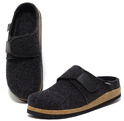 Herren Hausschuhe Pantoffel Slipper Echtes Wollfilz Navy Gr. 41-45 (41) Zapato Aus Deutschland Verkauf Online Rabatt Für Billig BPbApq