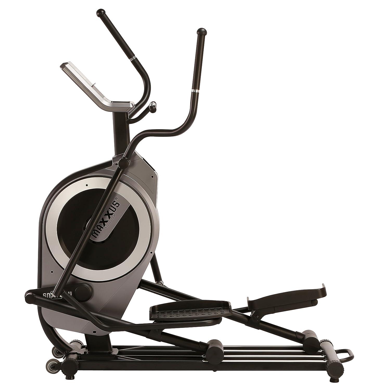 Bicicleta estática Maxxus Crosstrainer CX 6.2, pantalla LCD con pulsómetro, movimiento elíptico con 24 niveles, programas de entreamiento individuales, ...