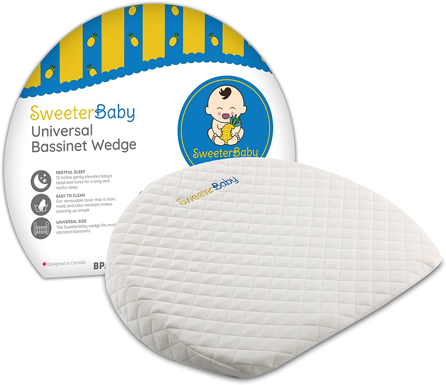 Bassinet Baby Wedge Pillow