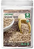 Organic Sesame Seeds (1lb) by Naturevibe Botanicals, Gluten-Free & Non-GMO (16 ounces)