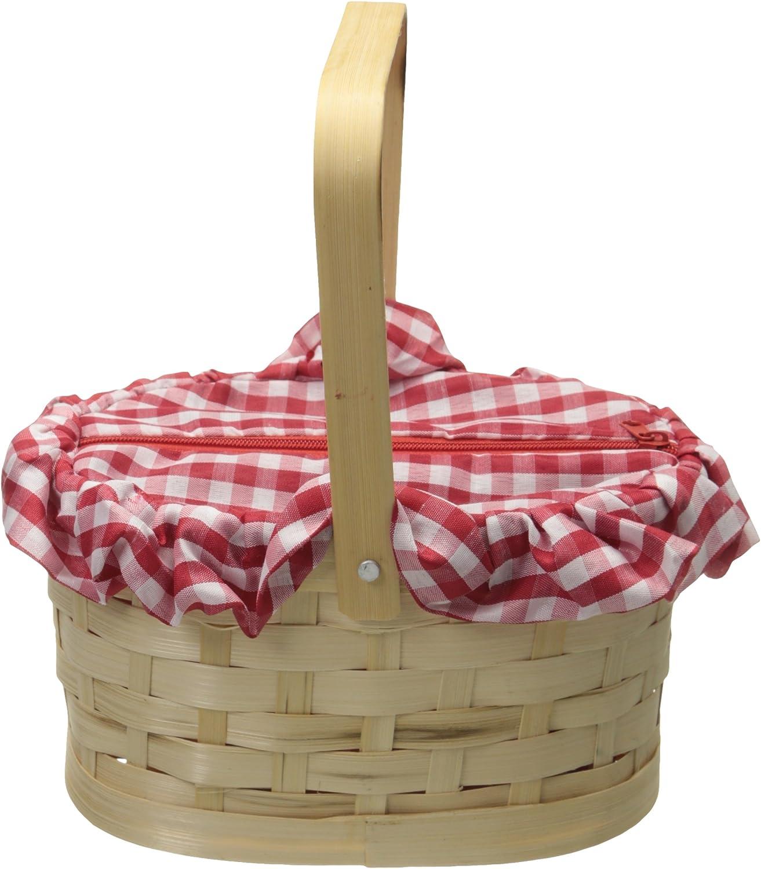 Rasta Imposta Gingham Basket