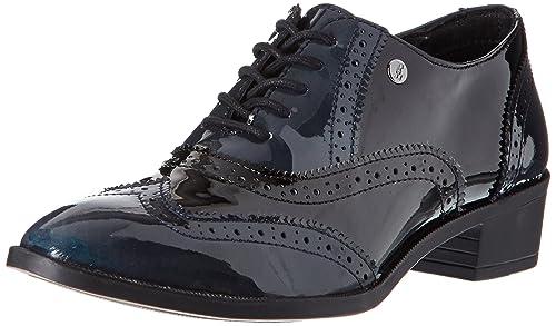 39 NoirMarine EU Amazon Femmes Chaussures Wilson lacées Elle wxfIXqY