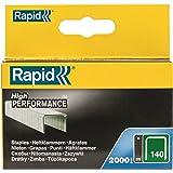 Rapid - Lote de grapas galvanizadas (8mm, 2000 unidades)