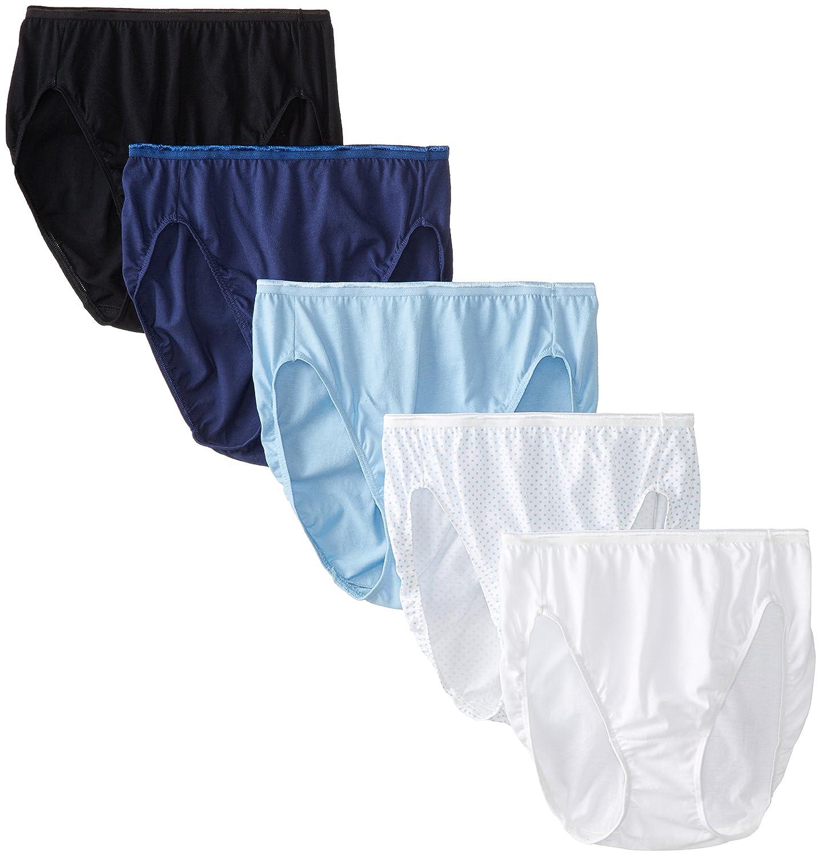 Vanity Fair Womens True fort Five pack Brief Panties at