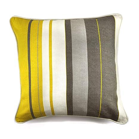 Fusion - Cojín Relleno (100% algodón, 43 x 43 cm), Color ...