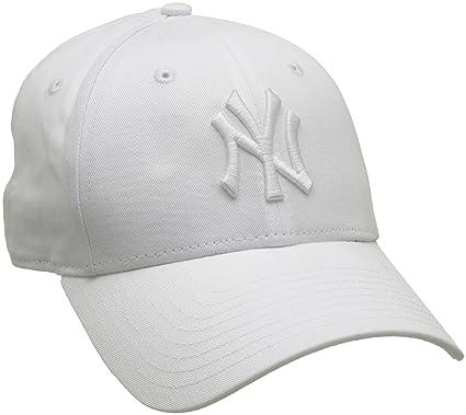 ec9e562f6594f New Era 940 New York Yankees Optic White Wmn Essential 9FORTY Cap ...