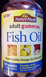Nature Made Fish Oil Gummy Supplement, 220 Count