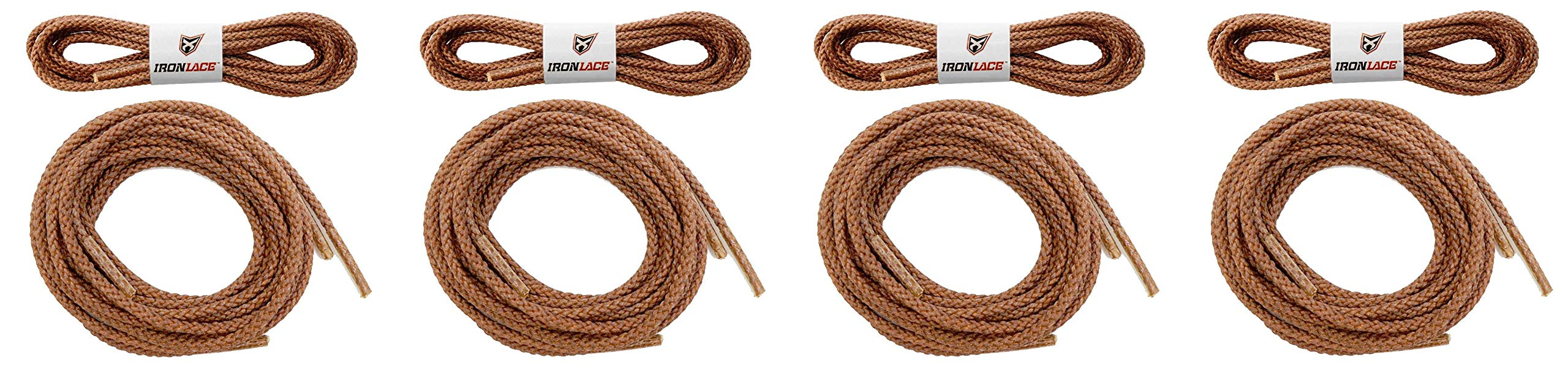 Unbreakable Extra Heavy Duty Round Boot Laces Shoelaces 72'' (Fоur Paсk)