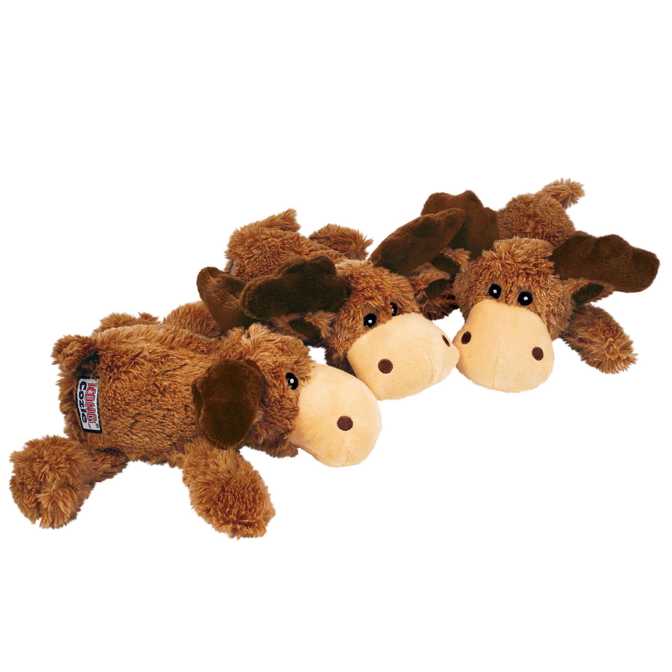 KONG Marvin Moose Trio Cozies Dog Toy by KONG (Image #2)
