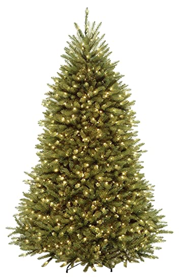 Akari Decor 7.5u0027 Artificial Christmas Tree With 750 Led Prelit Clear Warm  Lights Stand,