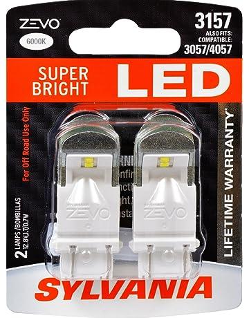 SYLVANIA - 3157 ZEVO LED White Bulb - Bright LED Bulb, Ideal for Daytime Running